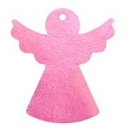 DQ European leather pendants angel Pink