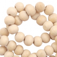Wooden beads round 6 mm Natural (natural wood colour)