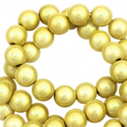 Miracle 3D beads 4mm Yellow Gold