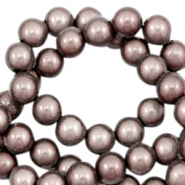 Miracle 3D beads 12mm Rose Taupe