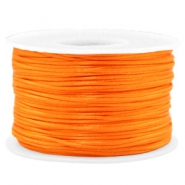 Macramé bead cord 1.5mm satin Russet Orange