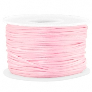 Macramé bead cord 1.5mm satin Light Pink
