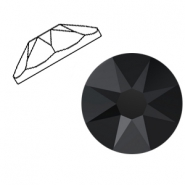 Swarovski Elements 2088-SS 34 flat back (7mm) Jet Black (unfoiled)