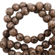 6 mm natural stone beads Brown