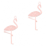 Bohemian charms flamingo Light Pink (nickel free)