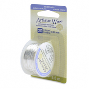 Artistic Wire 20 Gauge Tarnish Resistant Silver