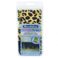 Beadalon Fashion Tool Pouch Cheetah Yellow-Black