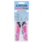 Beadalon Fashion Grips Tool Covers Giraffe Pink