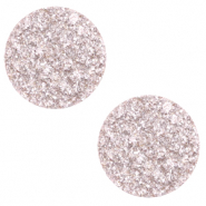 12 mm flat Polaris Elements cabochon Goldstein Delicacy Pink