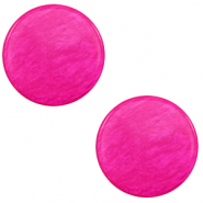 12 mm flat Polaris Elements cabochon Lively Magenta Purple
