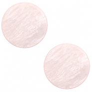 12 mm flat Polaris Elements cabochon Lively Delicacy Pink