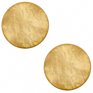 20 mm flat Polaris Elements cabochon Lively Cedar Brown