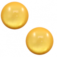 12 mm classic Polaris Elements cabochon soft tone shiny Mineral Yellow