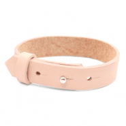 15mm leather Cuoio bracelets for 20mm cabochon Delicacy Pink