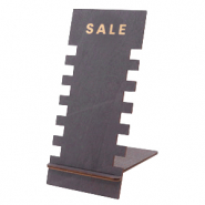 "Jewellery display wood ""SALE"" Black"