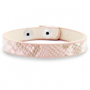 Ready-made bracelets snake Light Pink