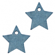 DQ European leather charms star Legion Blue