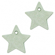 DQ European leather charms star Meadow Green