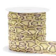 Elastic ribbon snake Olive-Yellow