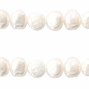 Freshwater pearls 7-8mm Natural White