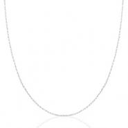 Stainless steel necklaces Mix&Match Silver