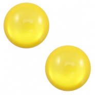 7 mm classic Polaris Elements cabochon soft tone shiny Empire Yellow
