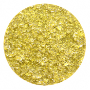 35 mm flat Polaris Elements cabochon Goldstein Empire Yellow