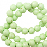 Beads Ceramic 6mm Paradise Green