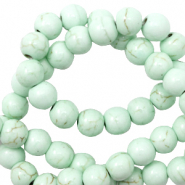 Beads Ceramic 4mm Meadow Turquoise
