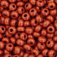 Preciosa glass seed beads 6/0-13600 Natural Opaque-Sequoia Brown