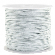 Macramé bead cord 1.0mm Cameo Grey