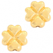 DQ European metal beads 4 Hearts Gold (nickel free)