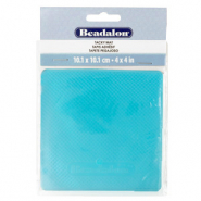 Beadalon Bead Mat Tacky 11x11cm Blue