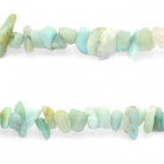 Chips stone beads Turquoise Blue
