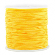 Macramé bead cord 0.8mm Yellow
