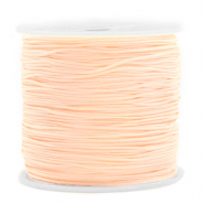 Macramé bead cord 0.8mm Light Peach
