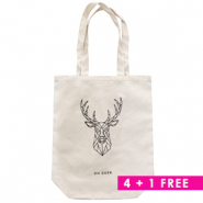 Combi deal 2 | Fashion bag canvas 4 + 1 Free