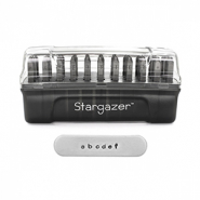 ImpressArt letter stamps set Lowercase Stargazer 2mm Dark Grey