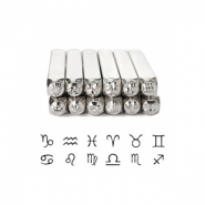 ImpressArt design stamps horoscope 3mm Silver