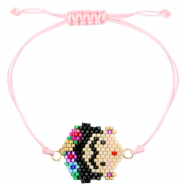 Ready-made Bracelets Frida Kahlo Pink
