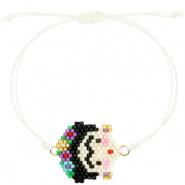 Ready-made Bracelets Frida Kahlo White