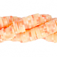 Katsuki beads 6mm Fresh Salmon Orange