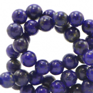 4 mm natural stone beads Dark Blue