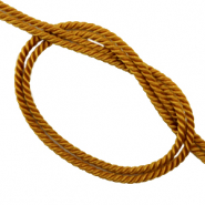 Trendy cord woven Golden Brown