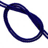 Trendy cord woven Deep Blue