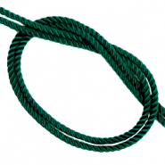 Trendy cord woven Pine Green