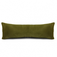 Jewellery display cushion velvet soft Dusty Olive Green