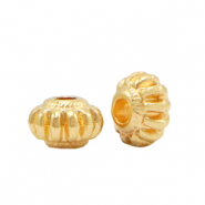 DQ European metal beads deco Gold (nickel free)