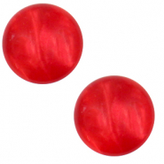 20 mm classic Polaris Elements cabochon Mosso shiny Flame Scarlet Red