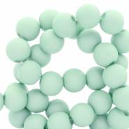 6 mm acrylic beads Soothing Sea Blue